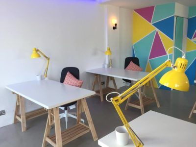 theHUB private desks